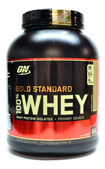 On Gold Standard 100% Whey Sabor Cookies & Cream 5 Lb
