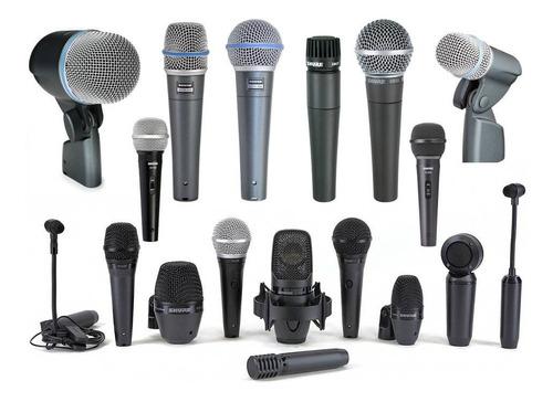 Microfonos Alambricos Shure Varias Opciones
