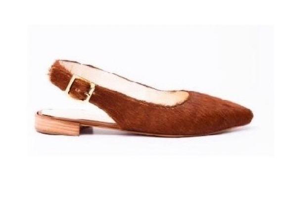 Zapato Mujer Zueco Natacha Pelo Suela #111