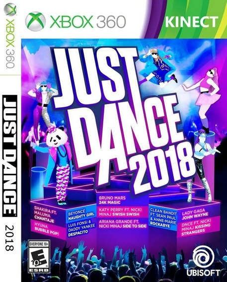 Just Dance 2018 Xbox 360 (midia Digital) Envio Imediato
