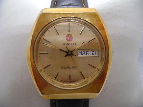 Reloj Rado Companion Original Automático Vintage