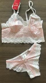Hermoso Cordinado Marca Tania En Rosa Muy Sexy 2019