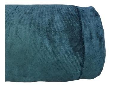 Capa De Rolo 140x20 Veludo Azul Marinho - 1 Unidade