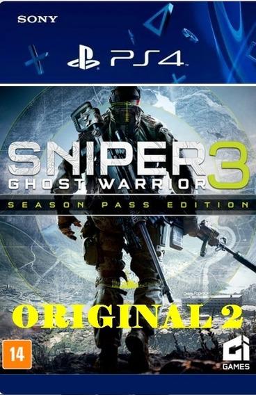 Sniper 3 Ghost Warrior - Code 2 Pt-br Ps4 Psn
