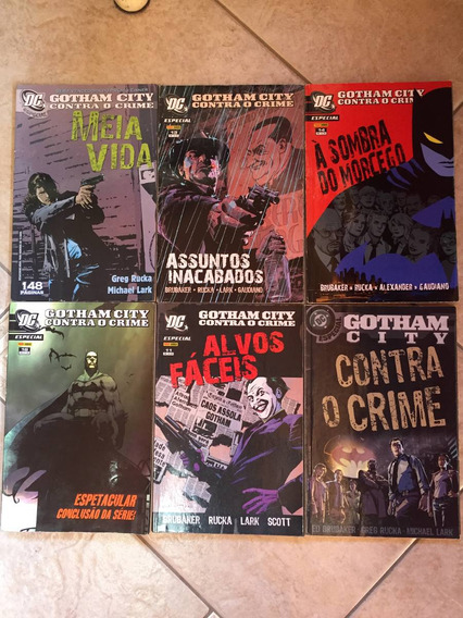 Hq Dc Batman Especial Gotham City Contra O Crime 6 Vol C849