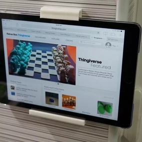 Suporte De Parede iPad E Tablet Apple Samsung Universal