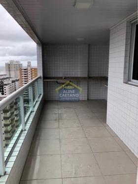 Apartamento Com 3 Dorms, Ocian, Praia Grande - R$ 100 Mil, Cod: Ac4110 - Vac4110