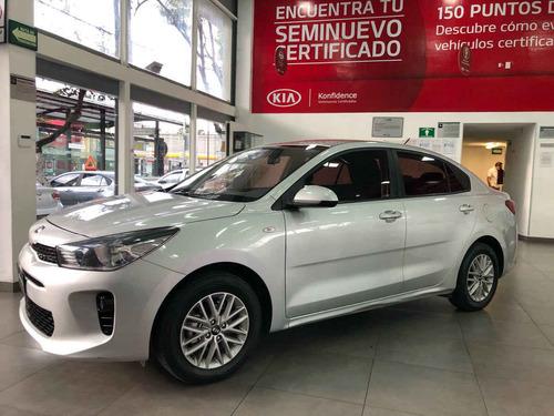 Imagen 1 de 15 de Kia Kia Rio Sedan 2019 4p Lx, 1.6 L Mpi Tm6, Ve, Ba, Bl, Ra