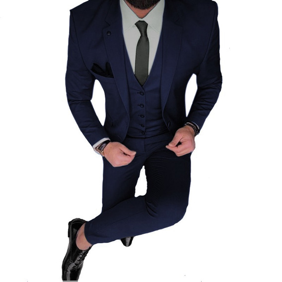 Chupin Con Traje Camisa Zapato Tiradores Y Corbata Import