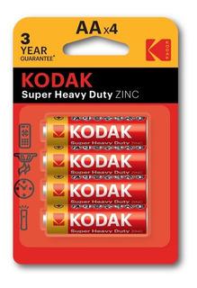 Pilas Kodak Zinc Aa X 4 Unidades