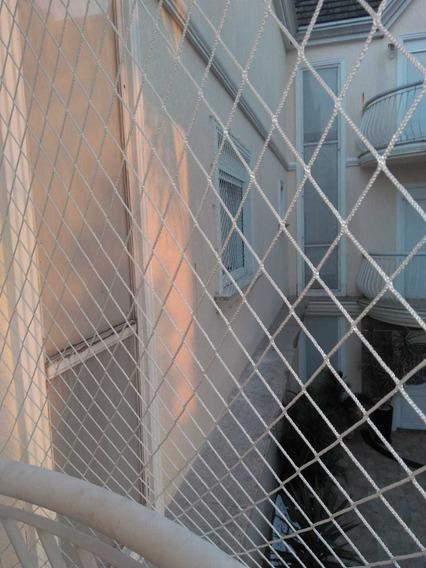 Rede De Proteção Janelas Sacadas Com Corda Até 5 M²