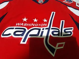 Jersey Hockey Nhl Capitals Washington Bordado Grande Reebok