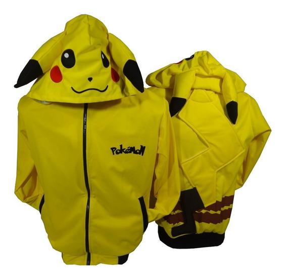 Chamarra Cosplay Pikachu Pokemon