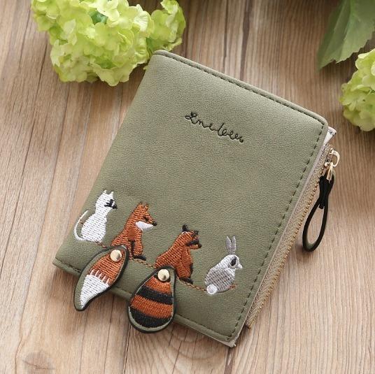 Billetera Mujer Diseño Animalitos