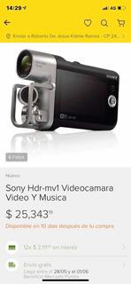 Sony Video Cámara Video Y Musica