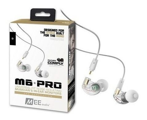 Fone In-ear Mee Audio M6 Pro Clear Retorno