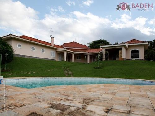 Casa Residencial Em Valinhos - Sp, Estancia Recreativa San Fernando - Ca00109