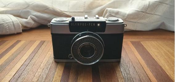 Máquina Fotográfica Olympus-pen Ees-2 Antiga