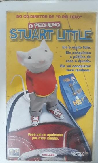 Filme Fita Vhs- Stuart Little- Dublado