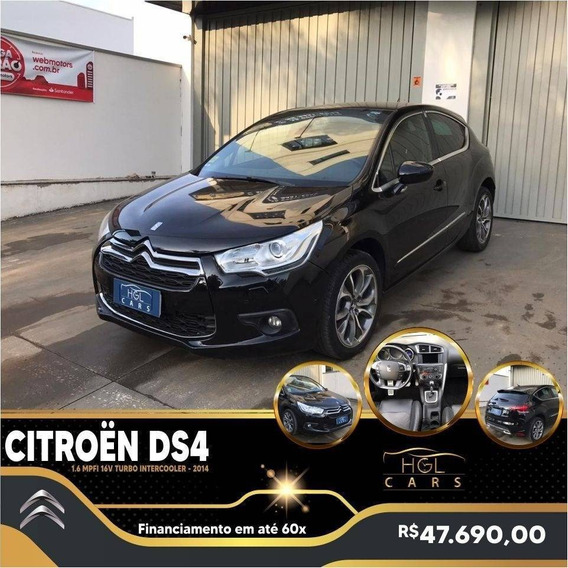 Citroën Ds4 1.6 Mpfi 16v Turbo Intercooler Gasolina 4p