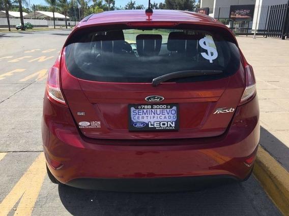 Ford Fiesta Se 5-ptas Mt 2017 Seminuevos