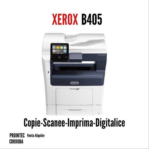Impresora Laser Multifunción Xerox B405 Sucursal Cordoba
