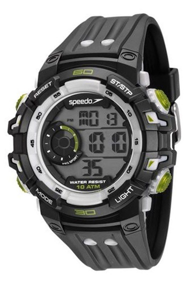 Relógio Speedo Masculino Esportivo Digital 80614g0evnp2