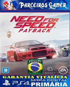 Need For Speed Payback - Corrida Português - Ps4 1 - Digital