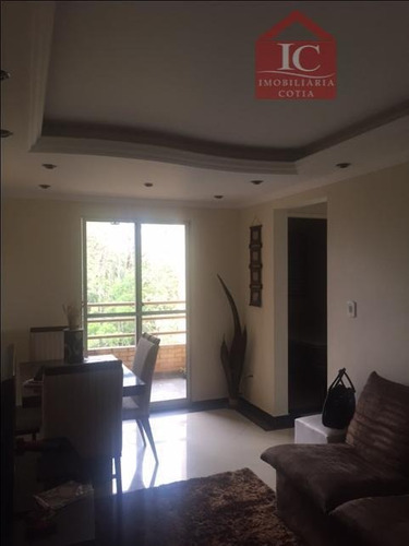 Apartamento Com 2 Dormitórios À Venda, 48 M² Por R$ 215.000,00 - Jardim Sabiá - Cotia/sp - Ap0213