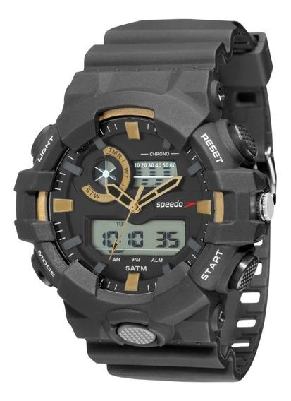 Relógio Masculino Speedo Anadigi Esportivo 81156g0evnp1