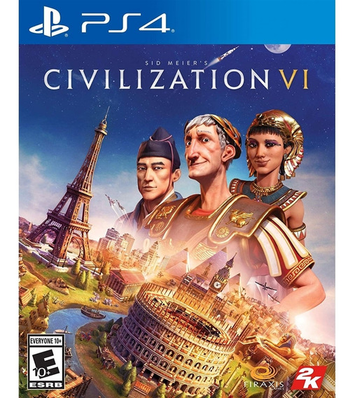 Sid Meiers Civilization Vi Ps4 Mídia Física Novo Lacrado