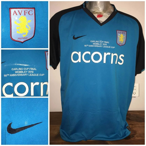 Camiseta Aston Villa Player Conmemorativa Wembley 2010