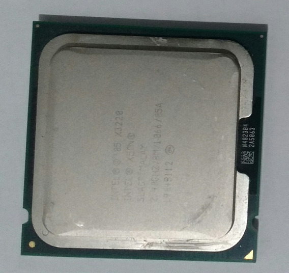 Processador Intel Xeon X3220 2.40ghz 8m Cache 1066 Lga775