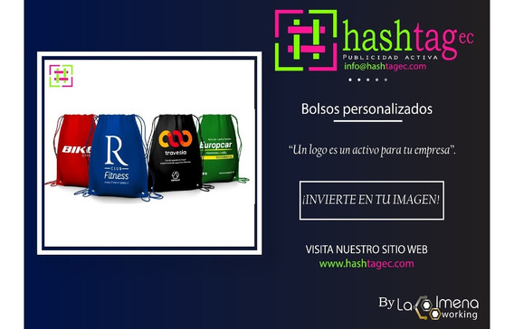 Maletas Mochilas Bolsos & Fundas Publicitarios Multicolor