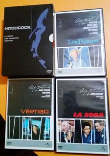 Colección 8 Películas Originales Alfred Hitchcock Dvd Usadas