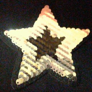 Ack-2395 Aplique Lentejuela Reversible Estrella Por 100unid