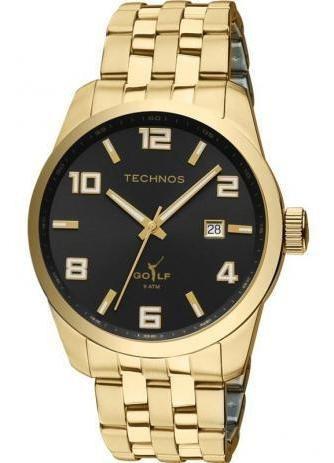 Relógio Masculino Technos 2315yj/4p Aço Dourado