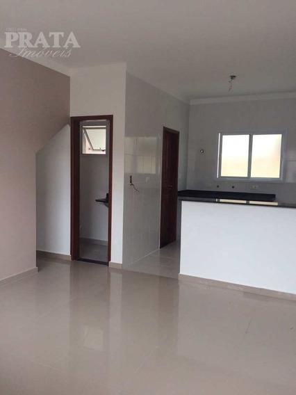 V. São Jorge São Vicente Sobrado 2 Dorms S/ 1 Suíte, Área, 1 Vg - V398397