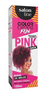 Salon Line Color Express Fun Pink Show Tonalizante 100g