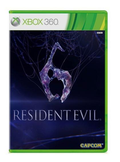 Resident Evil 6 - Xbox 360 - Usado - Original