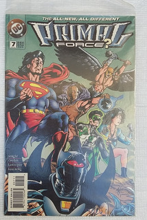 Comic Primal Force Nº7 Inglés Dc Superman