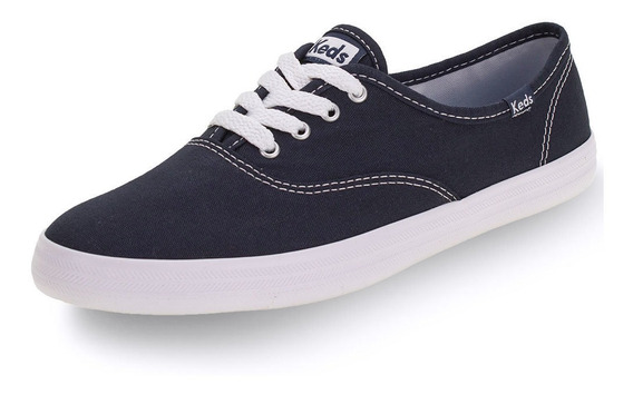 Tênis Champion Leather Keds - Kd10 Marinho