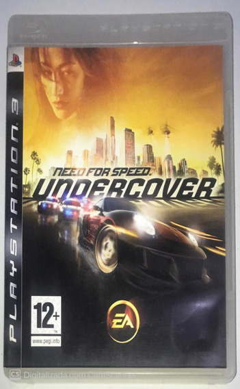 Need For Speed Undercover (mídia Física) Ps3