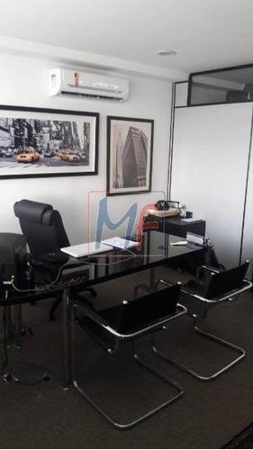 Imagem 1 de 8 de Ref 11.258 Sala Comercial  Em Condominio V. Gomes Cardim, 4 Vagas, 200 M² , Divisórias,  Ar Condicionado - 11258