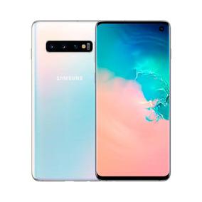 Samsung S10, Branco 6,1 , 128gb, Tripla 12mp+16mp+12mp