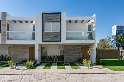 Casa En Venta 4 Recamaras Parque Ibiza Modelo Platino Premium Con Roof Garden