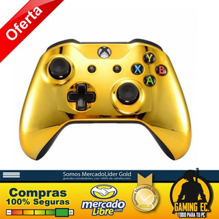 Mando Bluetooth Para Xbox One S Custom Soft Touch Oro