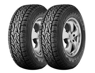 Kit X2 Bridgestone 255 70 R16 Dueler A/t Revo 2 18 Cuotas!