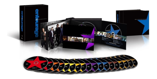 Blu-ray Entourage / La Serie Completa / 8 Temporadas