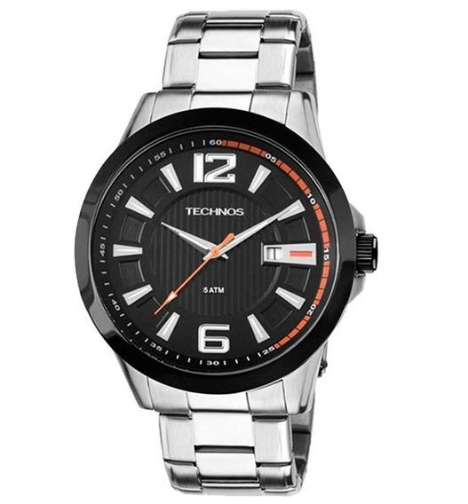 Relógio Technos Masculino Sport Aço Inoxidável 2115knv1p
